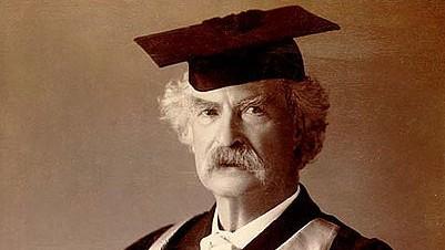 Mark Twain (c) Charlie Huang