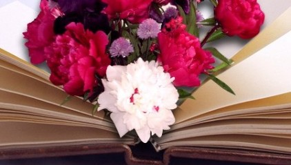 header - kwiaty ksiazka